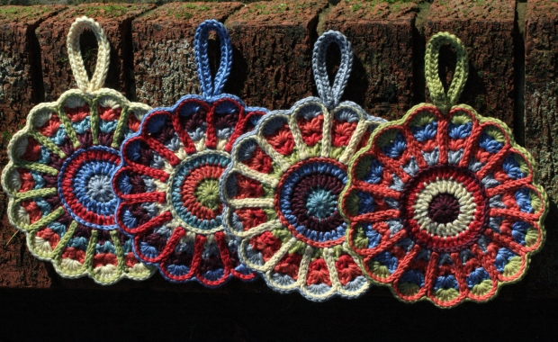 Set of 4 Crochet Pot Holders
