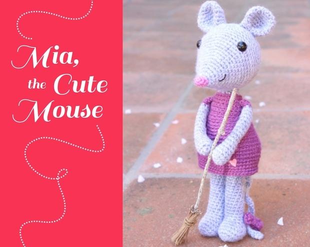 principal Mia the cute mouse