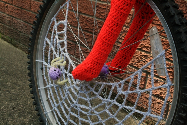 Crochet Bicycle Front Wheel